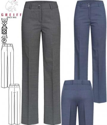 Greiff Damenhose Pinpoint Modern Regular Fit