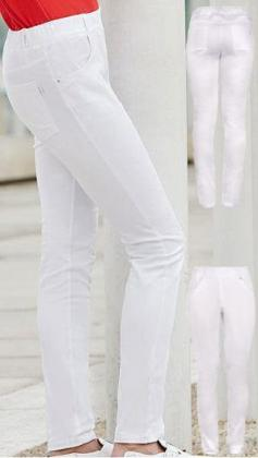 Jeggings weiß Slim Fit