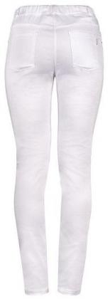 Jeggings weiß Slim Fitb