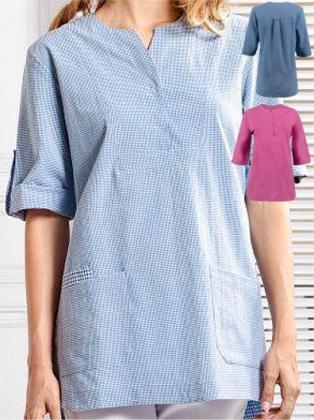 Stehkragen Kurzarm Hemd schwarz bügelleicht Regular Fit BP-0069 auch Übergrößen
