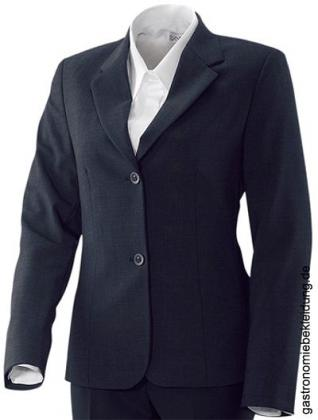 Damenblazer, Basic, marineblau