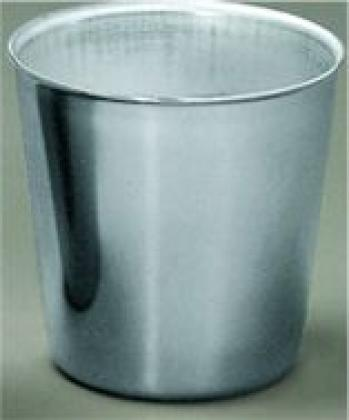 Puddingform 0,1 Liter, INOX, 12er Pack, 55 x 41 x 53 cm