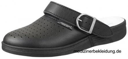 "Abeba Damen- & Herren-Clog schwarz, ""The Original"""