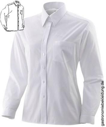weißes damen hemd