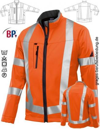 Warnschutzjacke Softshell orange
