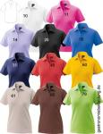 Damen-Poloshirt, 1/2 Arm